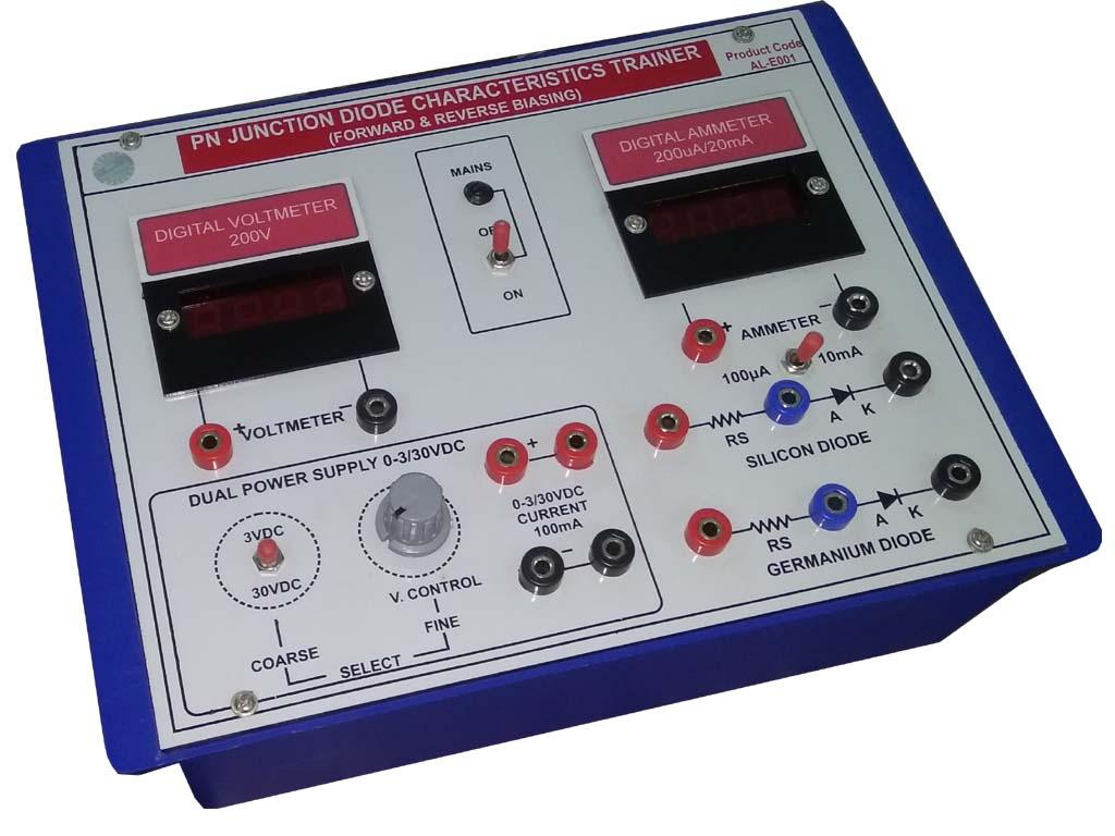 Pn Junction Diode Characteristics Digital Al E001c And Its Description
