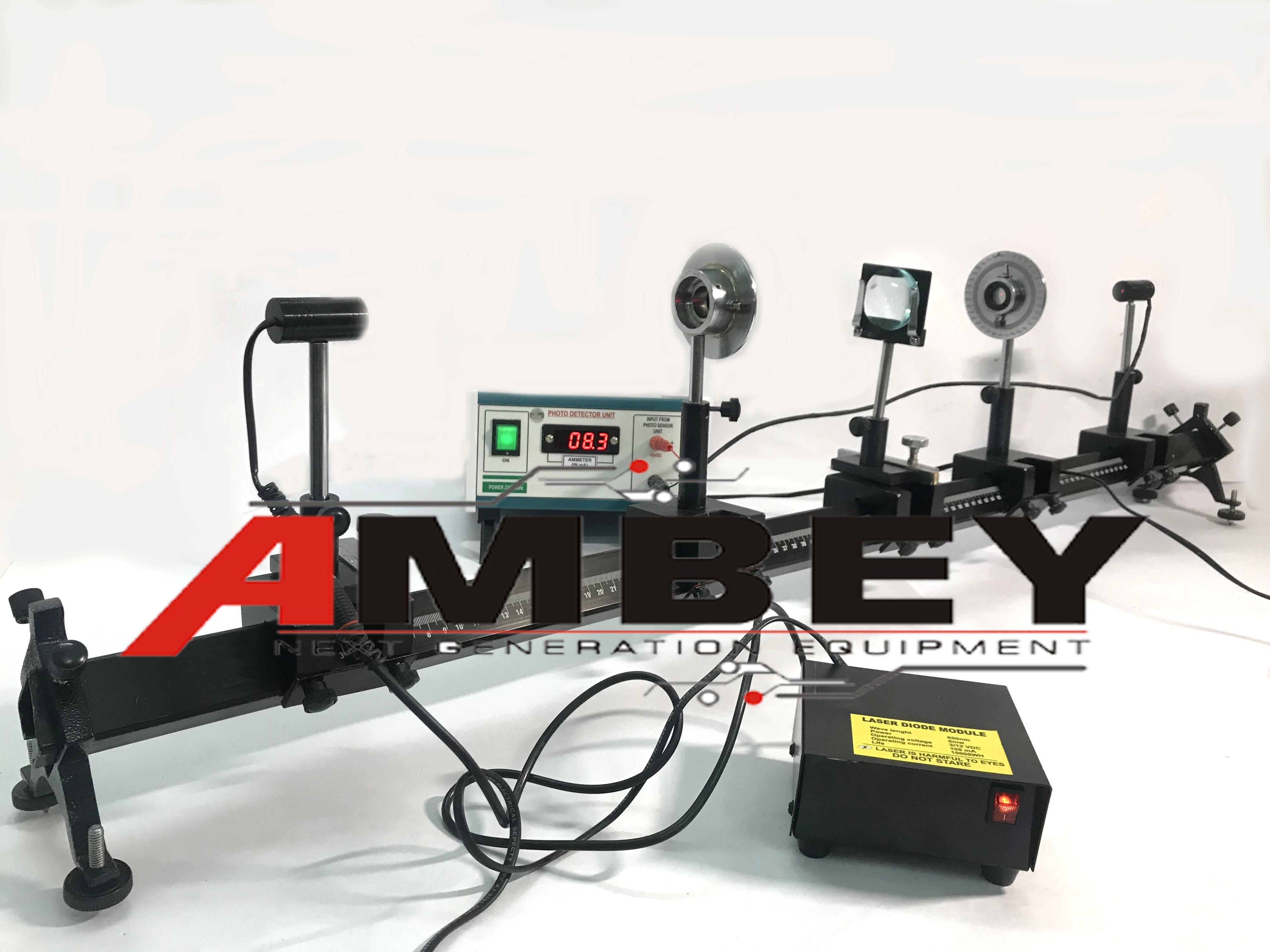 AL-E222A POLARISATION OF LIGHT USING QUARTER WAVE PLATE EXPERIMENT