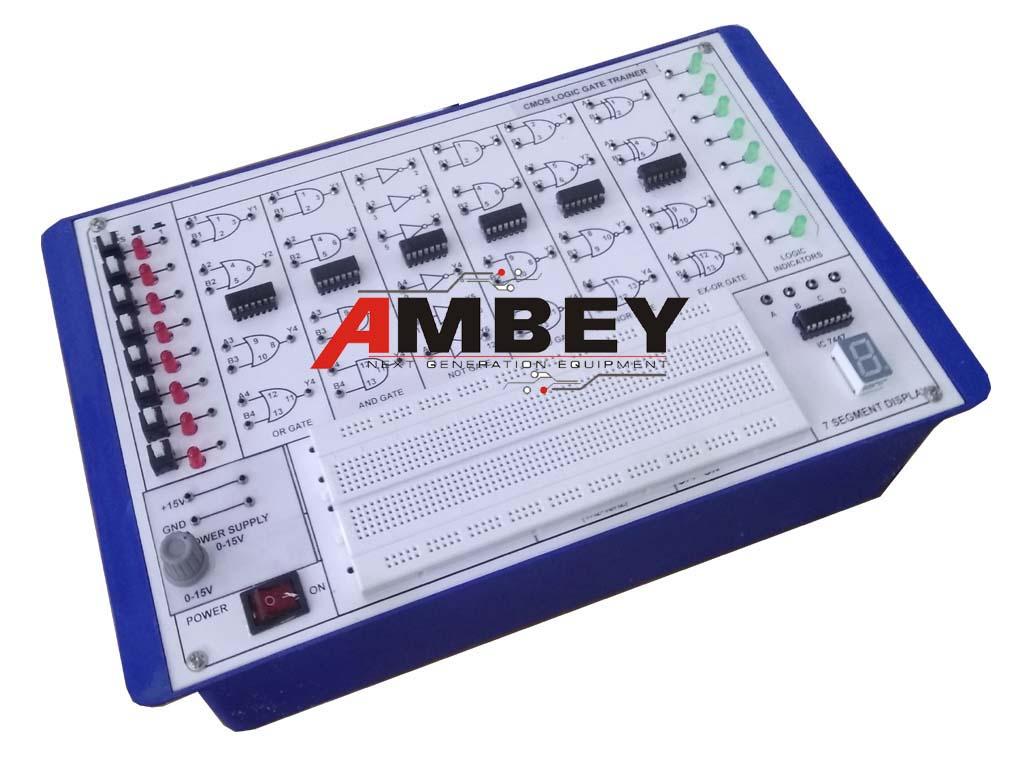 AL-E007A-LOGIC-GATE-TRAINER-USING-CMOS-IC