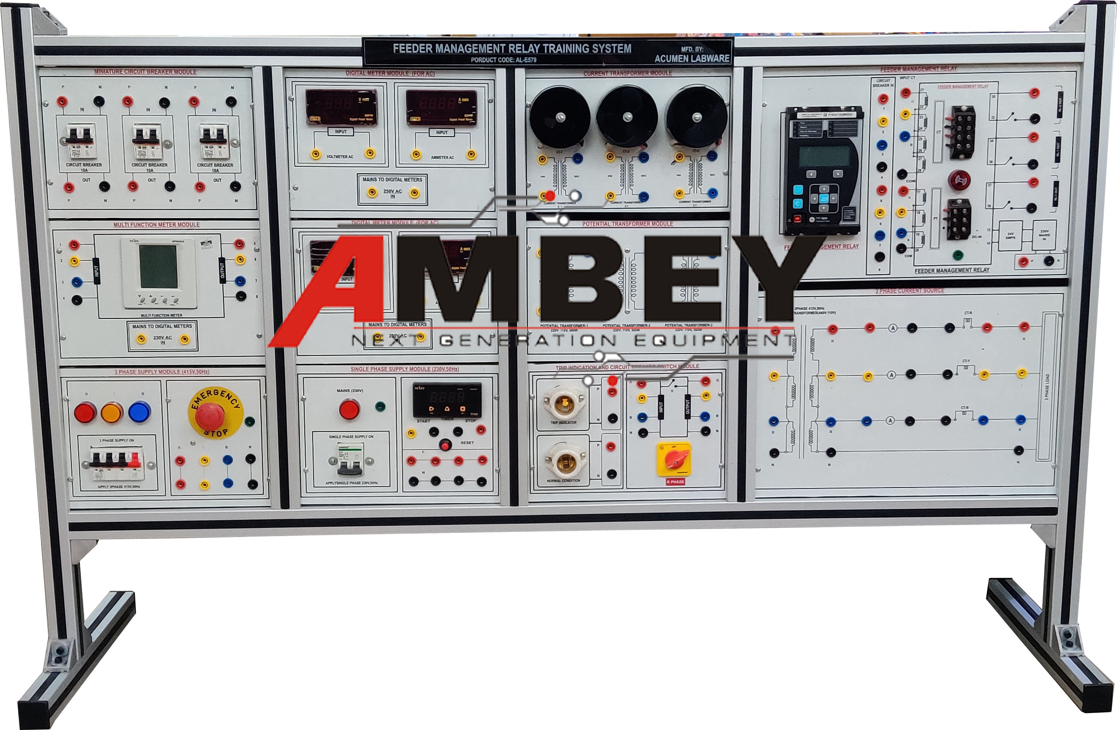 7 FEEDER MANAGEMENT PROTECTION RELAY TRAINING SYSTEM